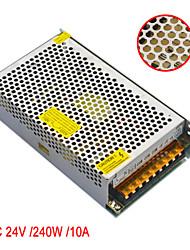 Jiawen AC110V / 220v для постоянного тока 24v 10a 240W трансформатор импульсный источник питания