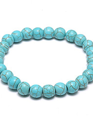 The New Turquoise Jewelry All-Match Folk Style Beads Bracelets