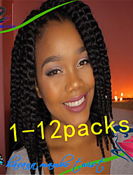 1Pack/Lot 12-24Inch Synthetic Kanekalon Fiber Havana Twist Hair Extention Crochet Braids for Female