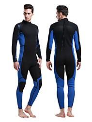 Women's Men's 3mm Drysuits Dive Skins Full Wetsuits WetsuitsWaterproof Thermal / Warm Ultraviolet Resistant Totally Waterproof