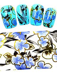 Мультипликация / Цветы / Милый-Фольга зачистки ленты-Пальцы рук / Пальцы ног-100cmx4cm-5PCS-Прочее