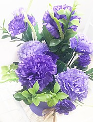 Silk / Plastic Lilac Artificial Flowers
