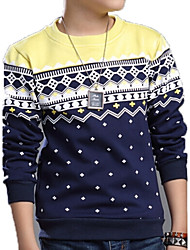 Katoen-Lente-Boy's-T-shirt-Print