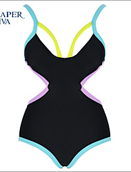 Shaperdiva Women Sexy One Piece Swimsuit Bandage Monokini Swimwear