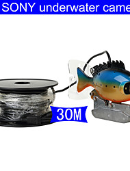 fishfinder onderwater camera 30m kabel ccd kleuren camera onderwater video vissen camera 3W LED