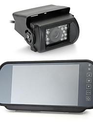 """7 """"монитор Specchio retrovisore PAL / NTSC PAL да авто + sensore пойти telecam 120"""