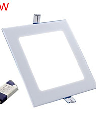 9W 800LM Square Ceiling Lamp LED Panel Lights LED Recessed Downlight(85-265V)