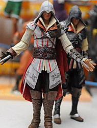 Igure Assassins CreedNECA Cartoon Doll Assassin's Creed Ezio 2 Generation W 1PC