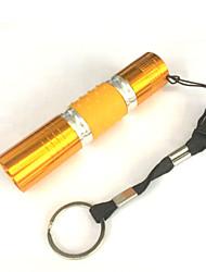 Iluminação Lanternas LED LED 100 Lumens 1 Modo LED AA Prova-de-Água / Tamanho Pequeno / Visão NocturnaCampismo / Escursão /