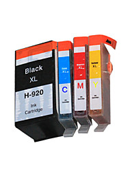 bloom®920xlbk / c / m / j compatibele inkt cartridge voor HP Officejet 6000/6500 / 6500A / 7000/7500 / 7500A vol inkt (4 kleuren van 1