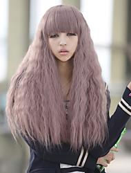 Repair Hot New Female Face Hot Corn Silk Hair Wig