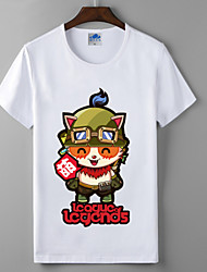 лол лига легенд TiM коллекция серии косплей футболки герои союза хлопок лайкра