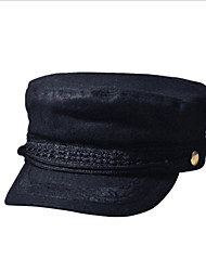 2016 Korea Couple Leather Visor Cap