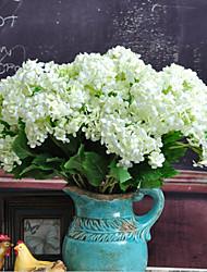 Шелк Гортензии Искусственные Цветы