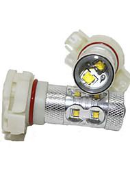 Classic Mustang H16 LED Fog Lamp 12V 40W Car LED Fog Lamp CREE LED White Color