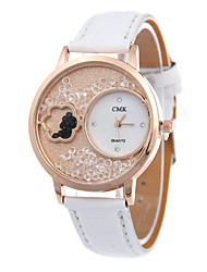 Women's  Fashion Simplicity  Ball Bearing Quartz  Leather Lady Watch Cool Watches Unique Watches