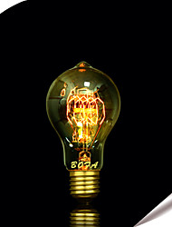 BOFA A19 25W Antique Edison Silk ball Bubble Lamp(85V-265V)