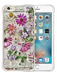 Pour Coque iPhone 6 / Coques iPhone 6 Plus Motif Coque Coque Arrière Coque Carreaux Flexible Silicone iPhone 6s Plus/6 Plus / iPhone 6s/6
