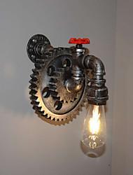 Candelabro de pared LED Campestre Metal