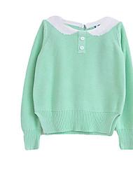 Girl's Sweater & Cardigan,Cotton Winter Blue