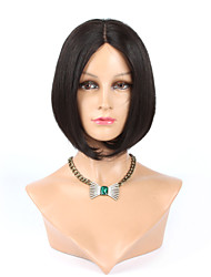 "12"" Brazilian Human Hair None Lace Short Bob Wigs For Black Women Glueless  Human Hair Bob Wig"