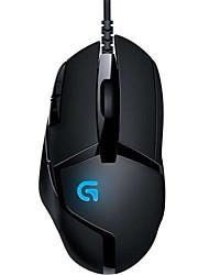 originais Logitech G402 Hyperion fúria Gaming Mouse 8 botão programável com alta velocidade de 4000 dpi para pc