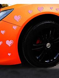 reflexivas carro amor personalidade românticas adesivos (15pcs / set)