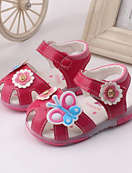 Baby Shoes Dress / Casual Leather Fashion Sneakers Pink / Peach