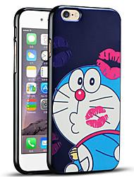 caso ultra fino bonito dos desenhos animados de proteção tampa traseira macia do iphone para 6s iphone / iPhone 6
