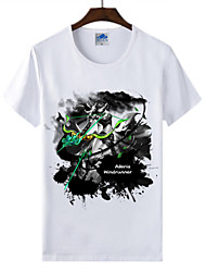 Cotton Lycra Men's T-shirt/World of Warcraft Wow Ink Series 1Pc Wr