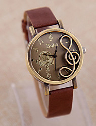 Women's Wood Quartz Analog Bracelet Watch (Multi-Colored) Cool Watches Unique Watches