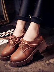 Women's Shoes  Chunky Heel Heels Heels Casual Black / Gray / Almond