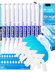 Grinigh Rejuvenation 2 Person Teeth Whitening Kit with Remineralization Gel - More Than 44 Treatments (22 Each)
