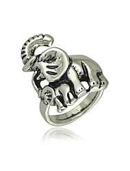 Ring Unisex Non Stone Alloy Alloy 7 / 8 / 9 SilverColor & Style representation may vary by monitor. Not responsible for typographical or