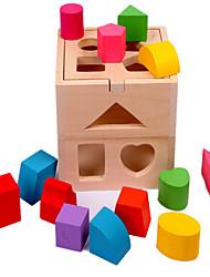 Thirteen Hole Intelligence Box Wooden Shape Wisdom Box