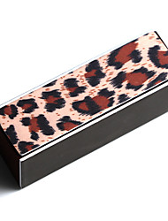 Fashion Leopard Nail File Buffer Polishing Block Sanding Nail Art Manicure Nail Art Tools