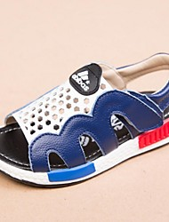 Boys' Shoes Outdoor / Casual Leather Sandals Black / Blue