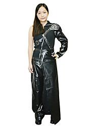 Final Fantasy Black Uniform Cloth Cosplay Leotard