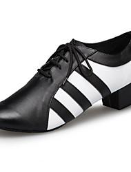 Maßfertigung-Niedriger Heel-Kunstleder-Lateintanz / Jazztanz / Modern / Salsa / Samba / Swing Schuhe-Herren