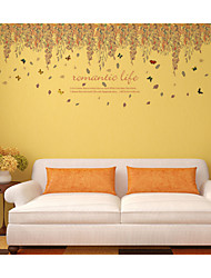 Still Life / Landscape Wall decal Plane Wall Stickers for Home decor,PVC 60*90CM