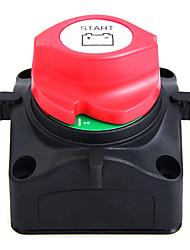 луженая медь 60V выключатель яхты 600а постоянного тока (AC - 701S) черный&красный
