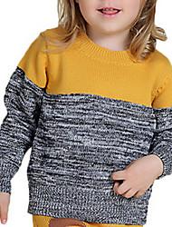 Girl's Sweater & Cardigan,Cotton Winter Yellow