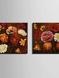 mini tamaño de la pintura al óleo e-hogar flores modernas florecen drenaje de la mano pura pintura decorativa sin marco