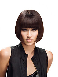 Brazilian Short Human Hair Bob Wigs For Black Women Virgin Straight None Lace Bob Wig Short Haircut Bob Lace Front Wigs
