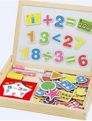 Children's Early Education Mathematics Shape Double-Sided Magnetic Drawing Board Spell Spell