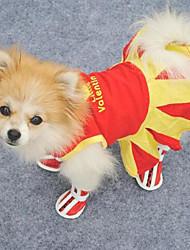 Sweety Lovely Pattern Pet Dress
