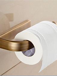 Держатель для туалетной бумаги Античная латунь Крепление на стену 7.9*3.5*1.1 inch Медь Современный