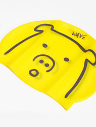 Cartoon Silicone Swimming Caps for Kid(Assorted Color)