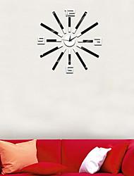 Rond / Autres Moderne/Contemporain / Traditionnel / Rustique / Antique / Casual / Rétro / Office/Business / Autres Horloge murale,Autres