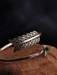 Feminino Bracelete Gema Liga Moda Prata Jóias 1peça